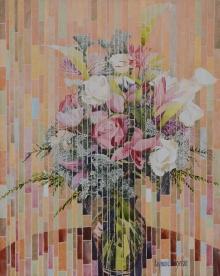 Fleurs mosaïques