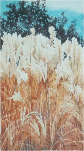 Grandes herbes au vent